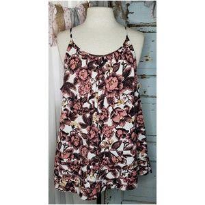 Loft floral summer blouse